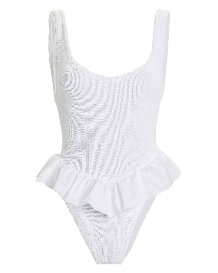 Denise Frill One-Piece Swimsuit