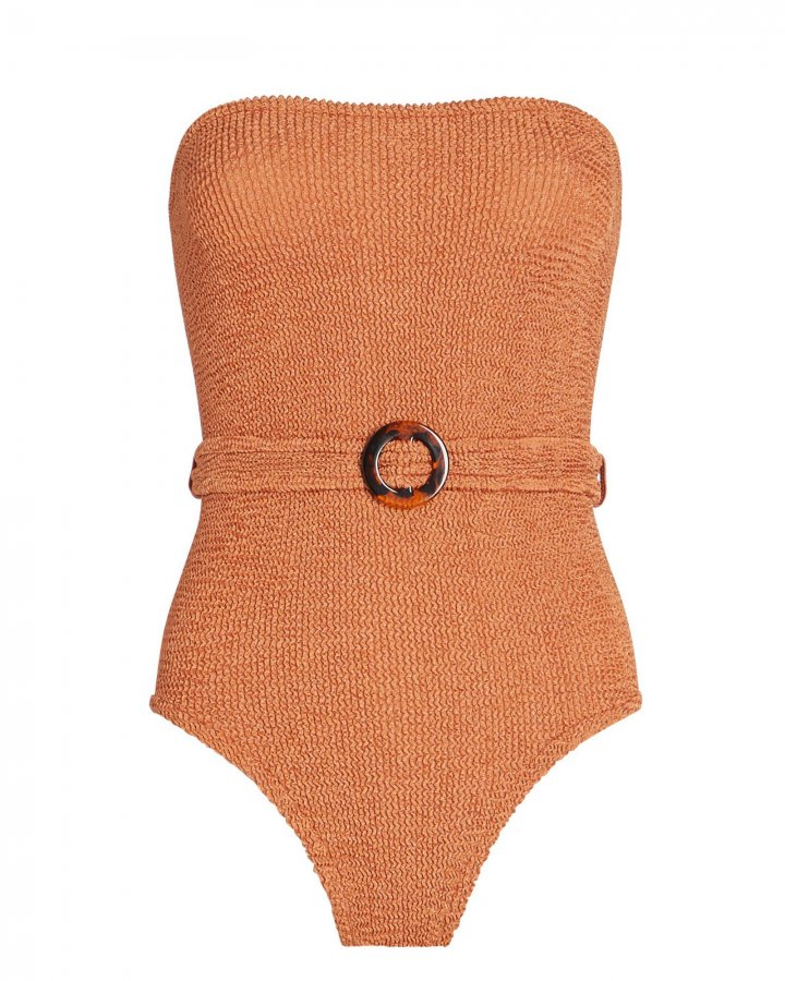 Honor Belted One-Piece Swimsuit