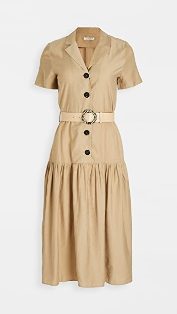 Collared Midi Dress