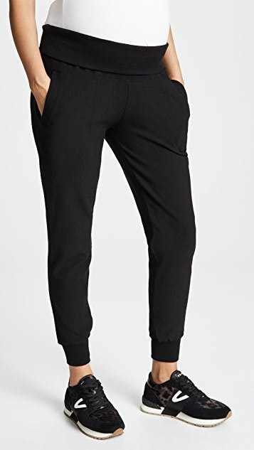 Maternity Fold Over Joggers