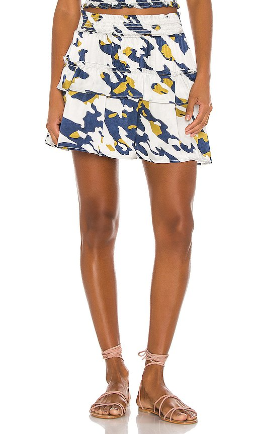 Hailee Tiered Mini Skirt
