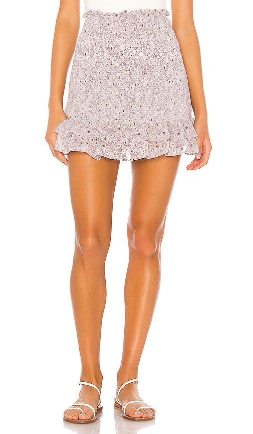 Wildflower Bouquet Mini Skirt