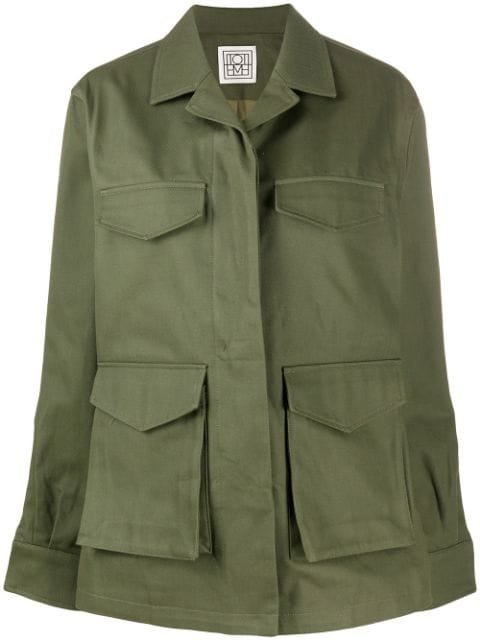 Totême Multi Pocket Military Jacket