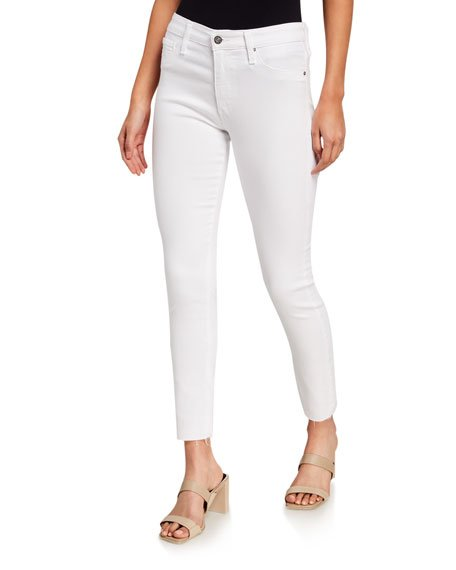 The Farrah High-Rise Ankle Skinny Jeans