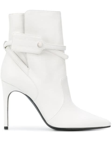 Off-White security-tag Ankle Boots