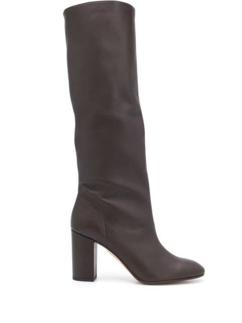 Aquazzura Boogie 85mm knee-high Boots