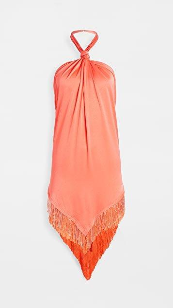 Beaded Fringe Wild Dress