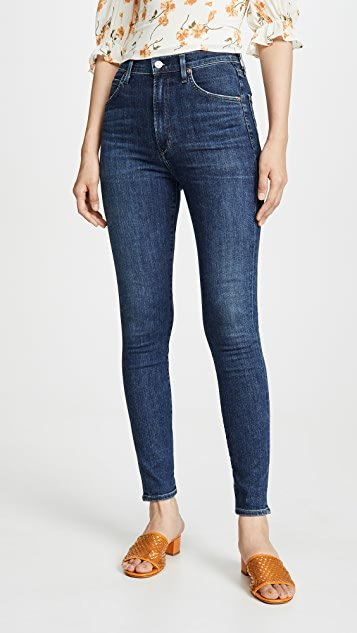 Chrissy Uber High Rise Skinny Jeans