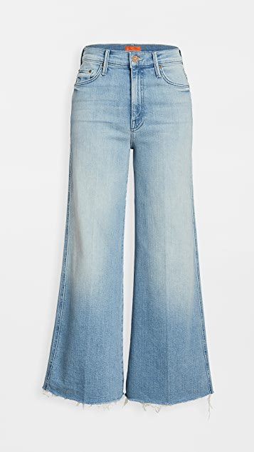 Sunburst Roller Unfinished Ankle Jeans