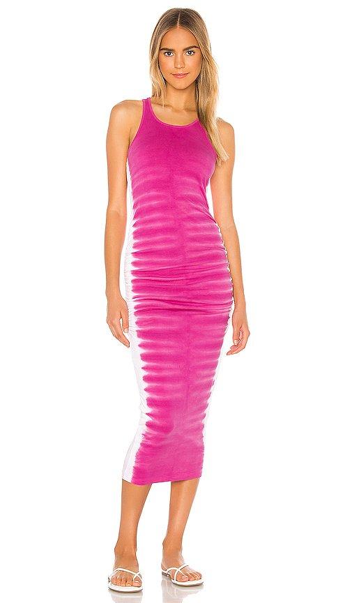 Flame Wash Midi Dress