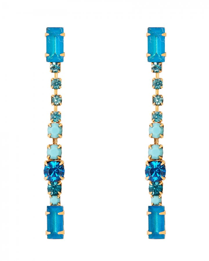 Gracelyn Linear Drop Earrings