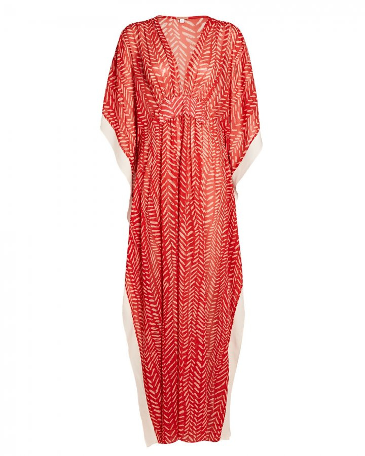 Seychelles Printed Georgette Maxi Dress