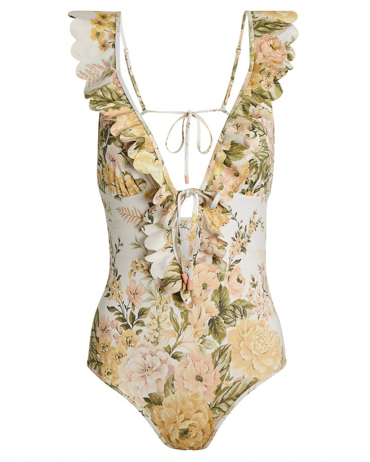 Amelie Frill One-Piece Swimsuit
