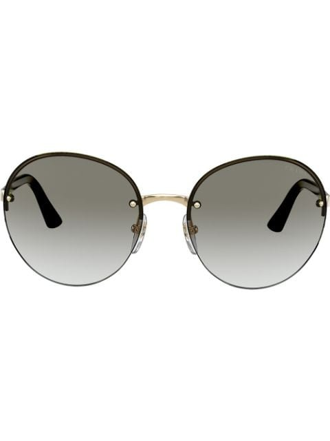 Prada Eyewear Heritage Round-Frame Sunglasses Ss20 | Farfetch.com
