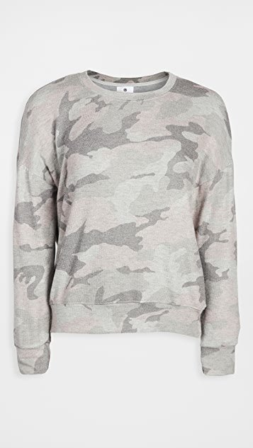 Camo Cozy Sweatshirt
