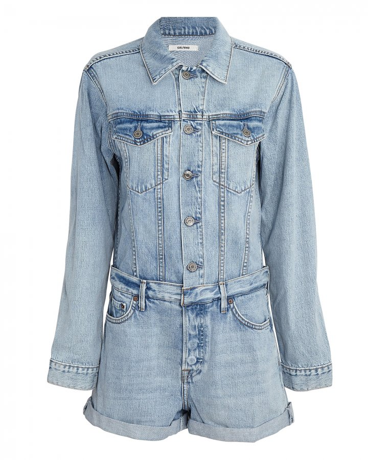 Renata Denim Playsuit