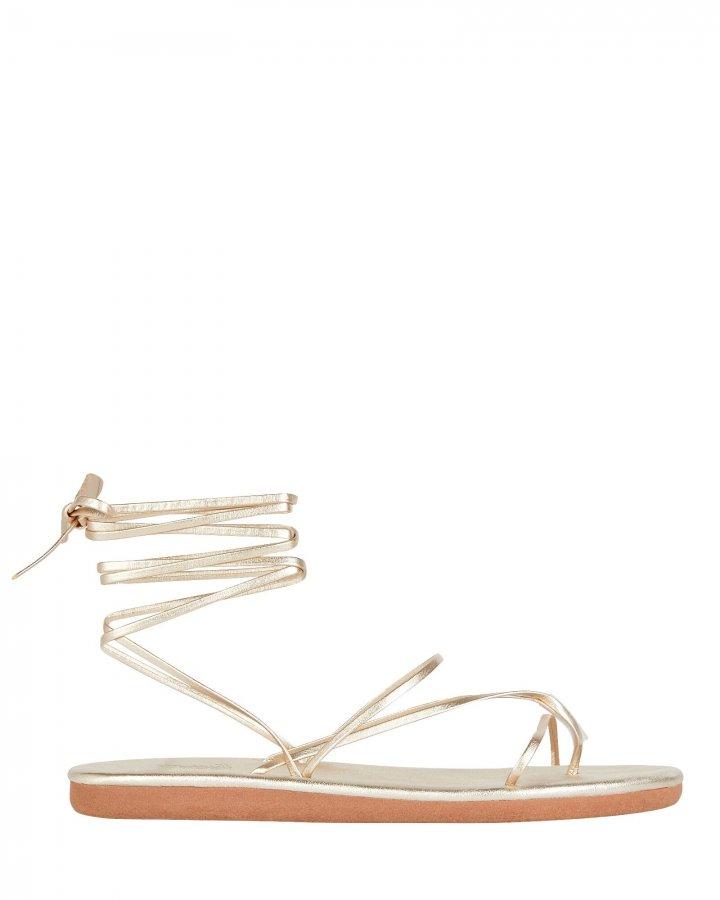 Ankle Tie String Flip-Flops