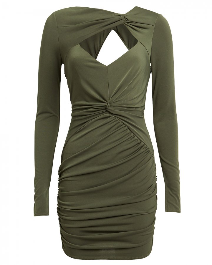 Fever Draped Mini Dress