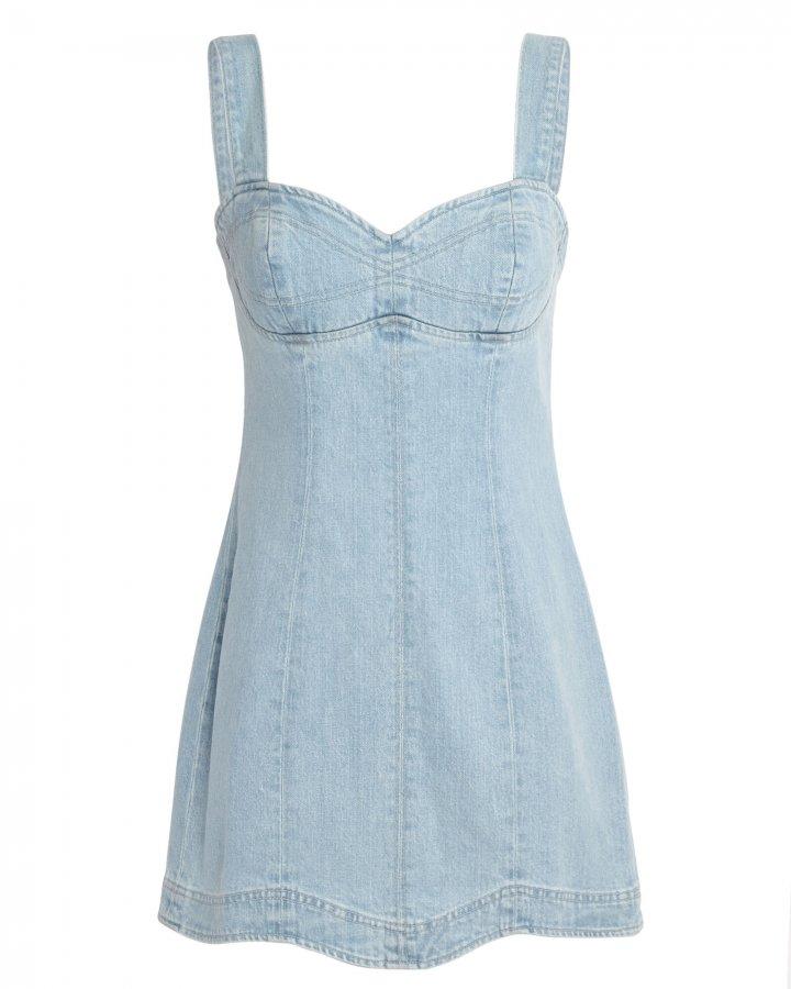 Eliana Denim Mini Dress