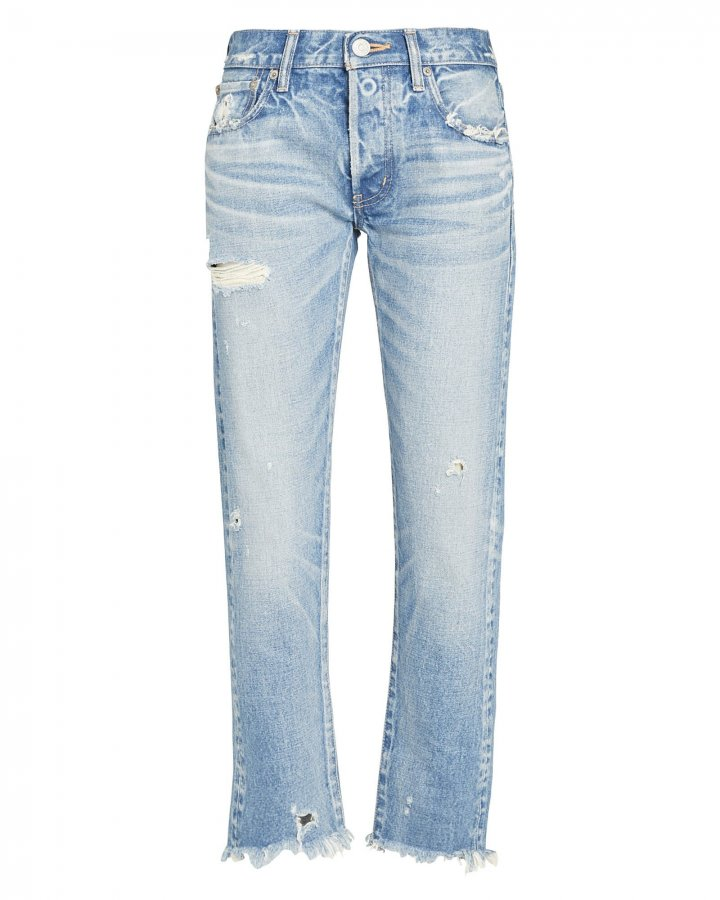 Kelley Tapered Mid-Rise Jeans