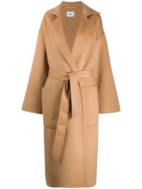 Nanushka Alamo Oversized Robe Coat Ss20 | Farfetch.com
