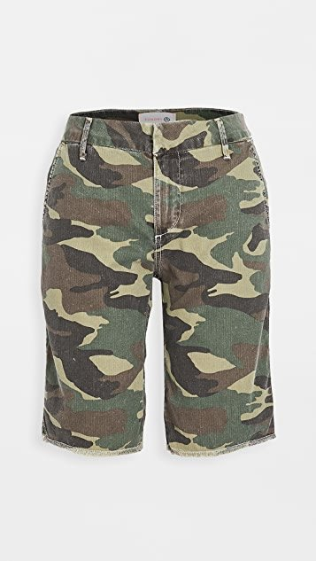 Camo Bermuda Shorts