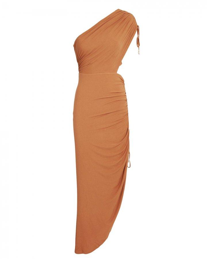 Sirene One-Shoulder Asymmetrical Dress