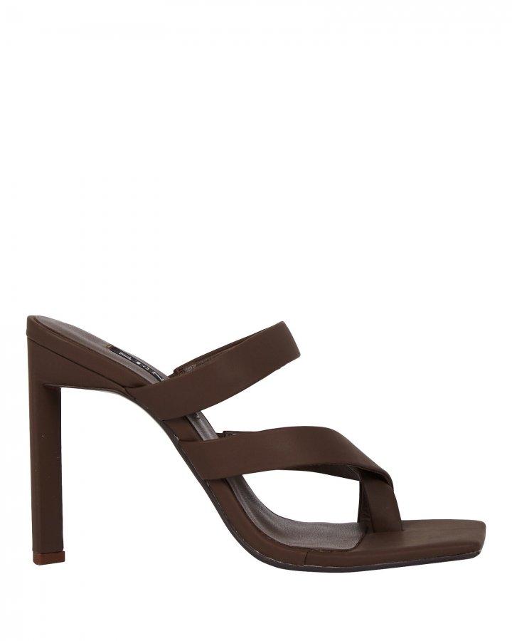 Sylvie Leather Slide Sandals