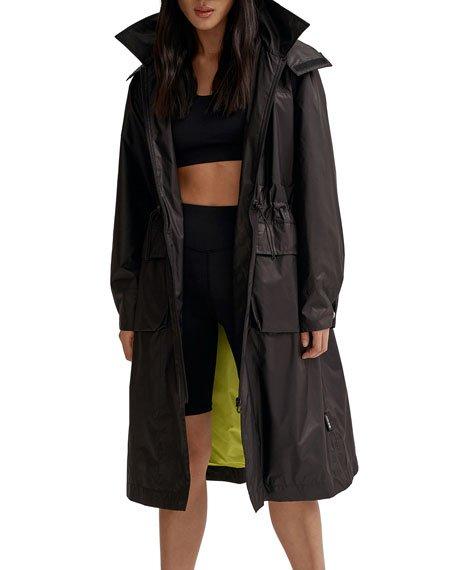 Valentina Long Packable Wind-Resistant Jacket