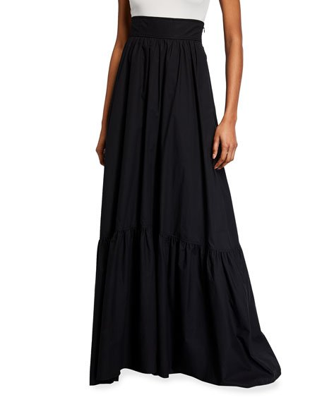 Lila High-Waist Long Skirt