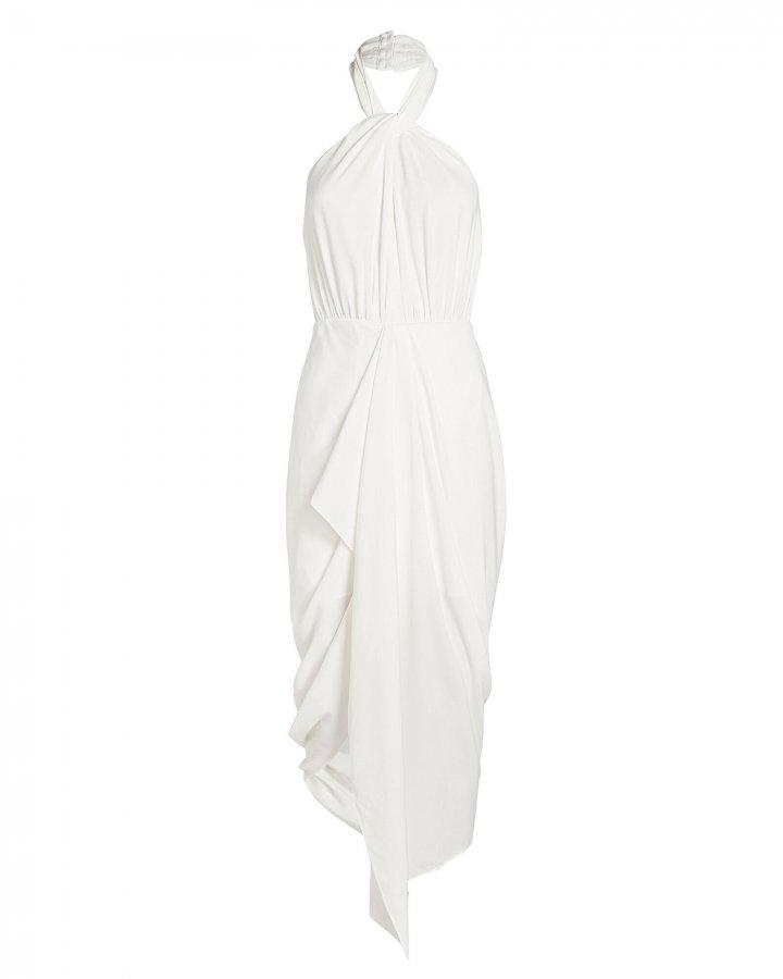 Calypso Halter Midi Dress