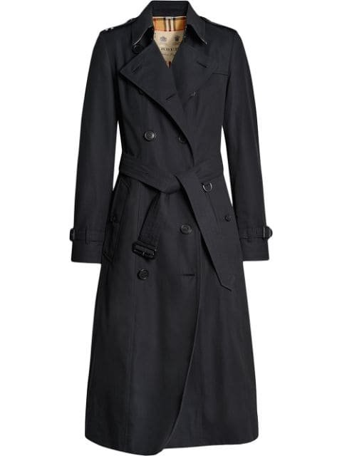 Burberry Chelsea Heritage Belted Trench Coat Ss20 | Farfetch.com