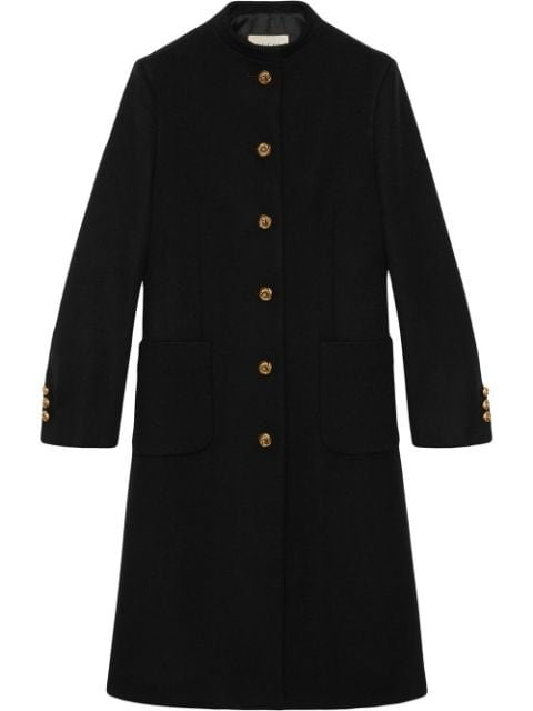 Gucci Horsebit Detail Coat Ss20 | Farfetch.com