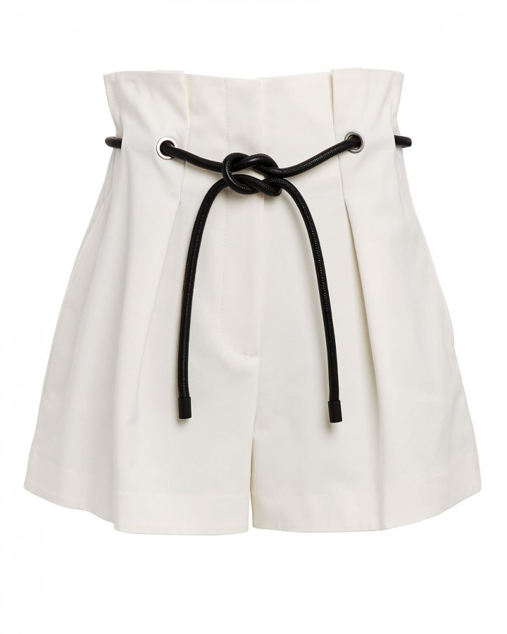 Origami Pleated Paperbag Shorts