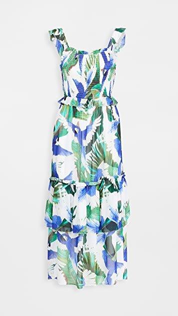 Blue Wind Maxi Dress