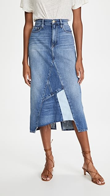 Le Midi Skirt Patch Work