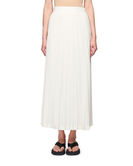 Lawrence Pleated Midi Dress