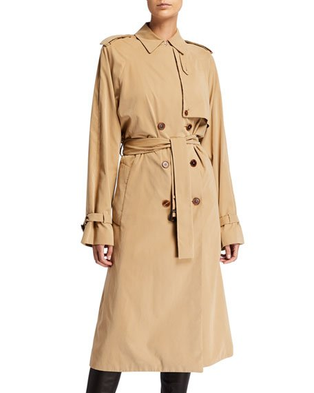 Triana Water-Repellant Trench Coat