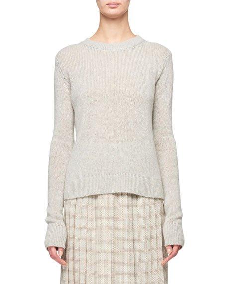 Muriel Cashmere Crewneck Sweater