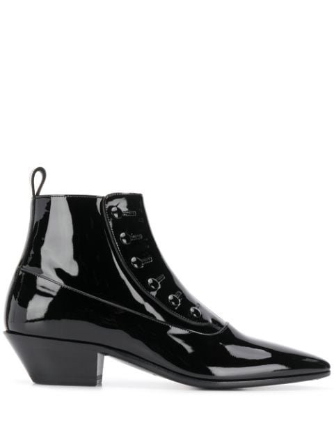 Saint Laurent Gabsty Ankle Boots Ss20 | Farfetch.com