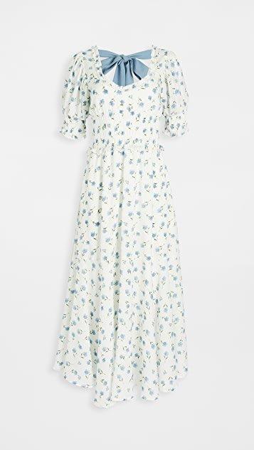 Perennial Floral Maxi Dress
