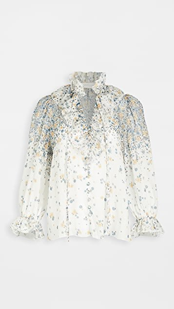 Carnaby Waterfall Blouse