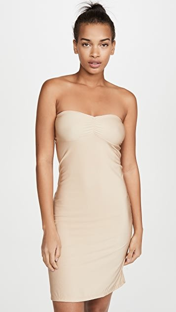 Second Skins Strapless Slip
