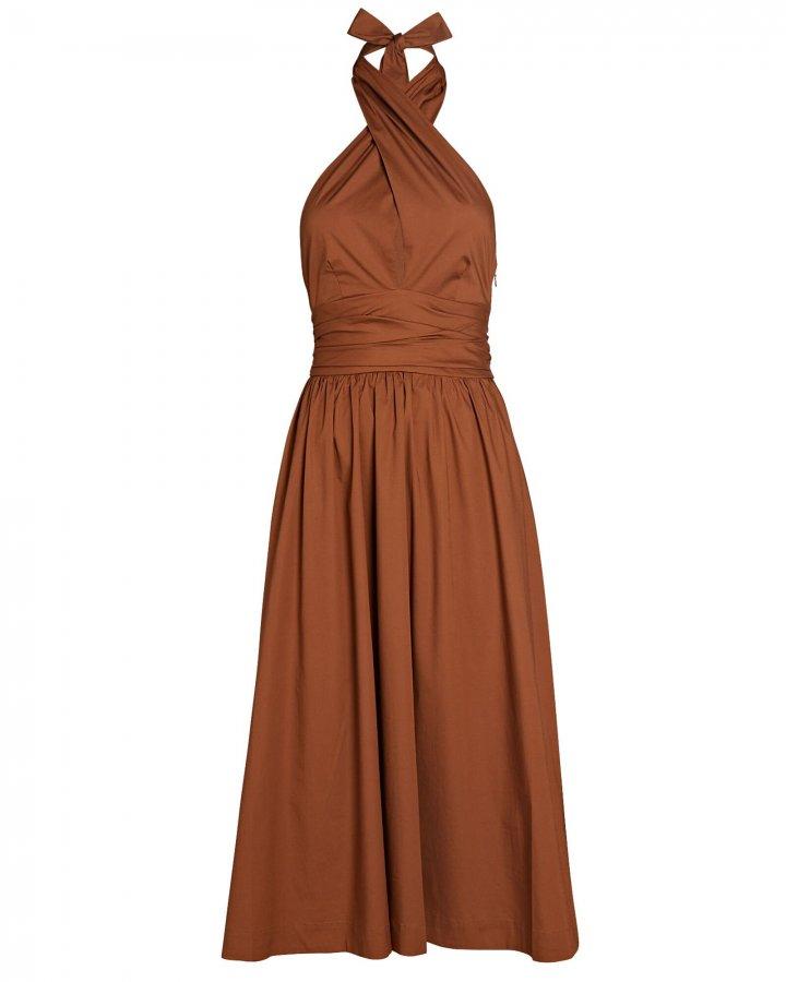 Moana Halter Cotton Dress
