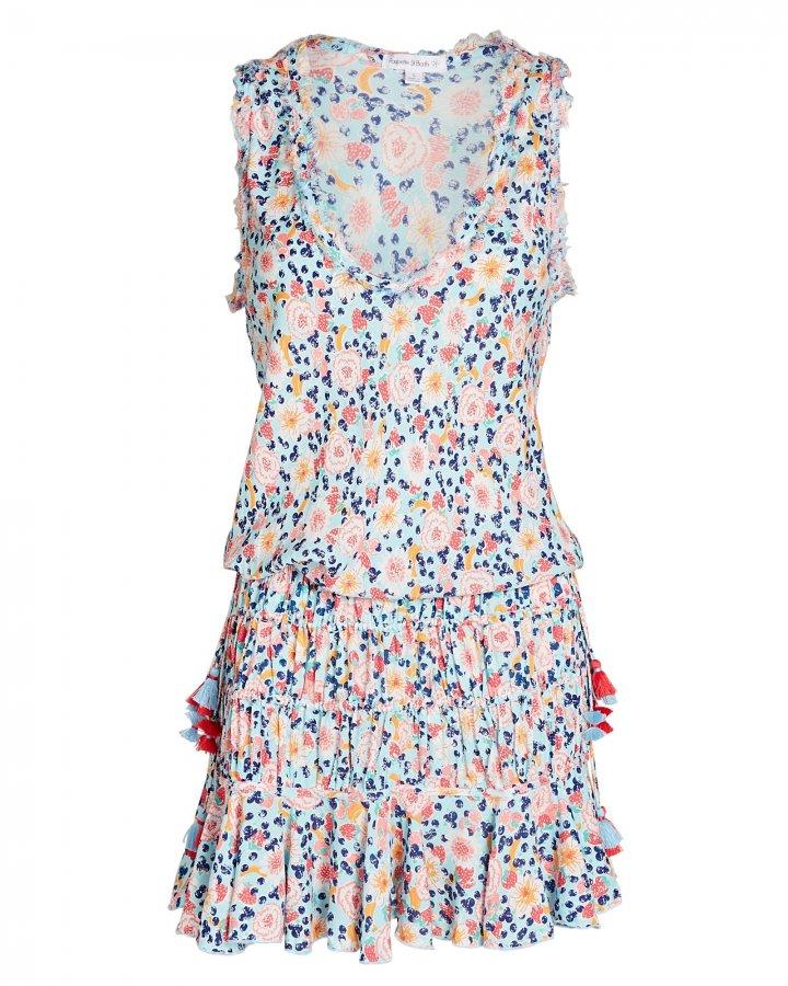 Soledad Floral Print Mini Dress