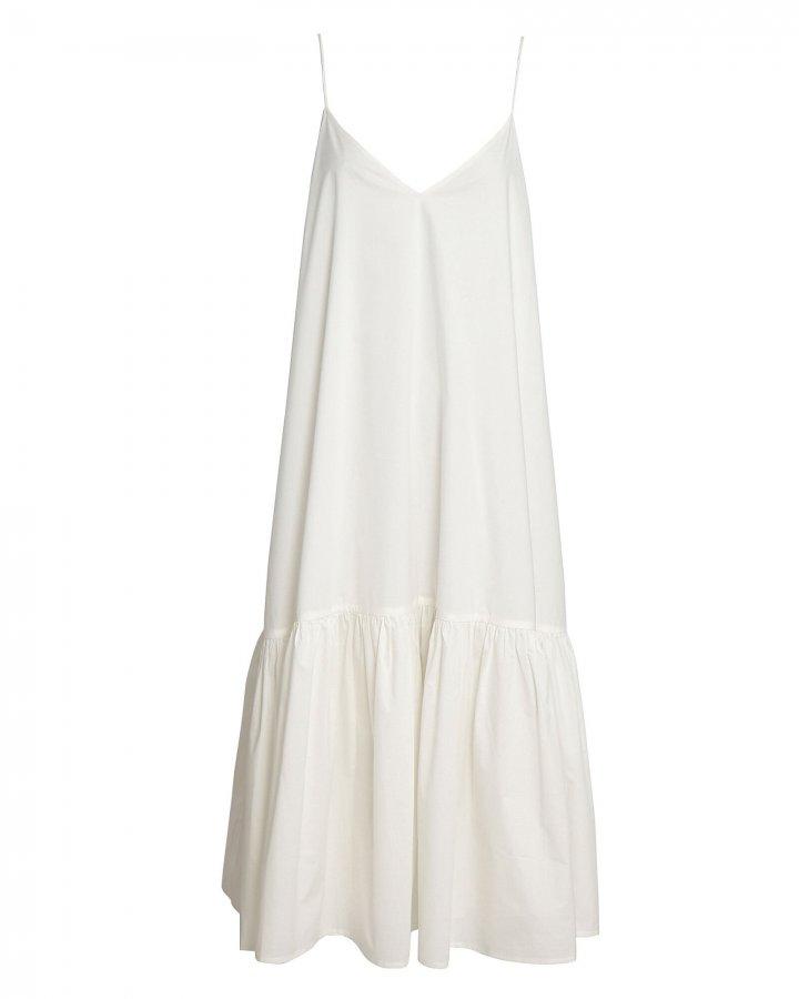 Averie Sleeveless Poplin Midi Dress