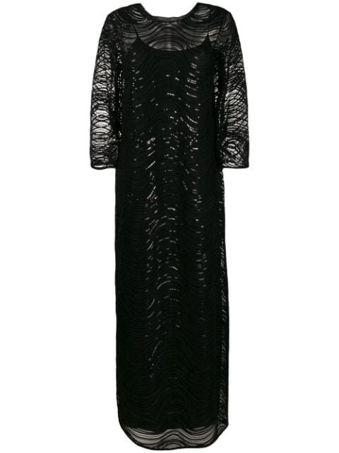 Emporio Armani Sequin-Embellished Gown Ss20 | Farfetch.com