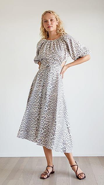 Ocelot Midi Dress