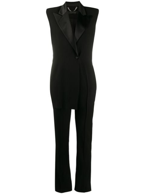 Federica Tosi Satin-Trimmed Jumpsuit Ss20 | Farfetch.com