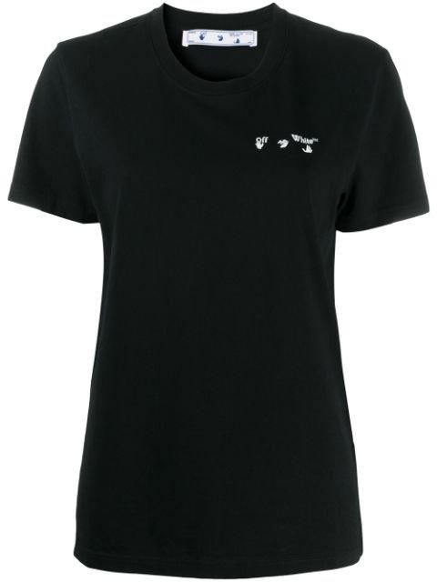 Off-White Logo Print Jersey T-shirt